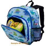 Wildkin Olive Kids Big Fish Pack 'n Snack Backpack - Petit Fab Singapore