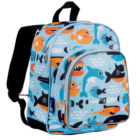 Wildkin Olive Kids Big Fish Pack 'n Snack Backpack