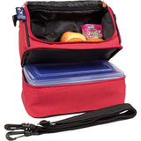 Wildkin Cardinal Red Double Decker Lunch Bag - Petit Fab Singapore