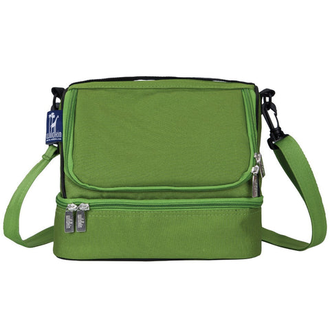 Wildkin Parrot Green Double Decker Lunch Bag - Petit Fab Singapore