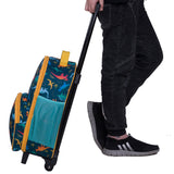 Wildkin Jurassic Giants Rolling Luggage Trolley Bag