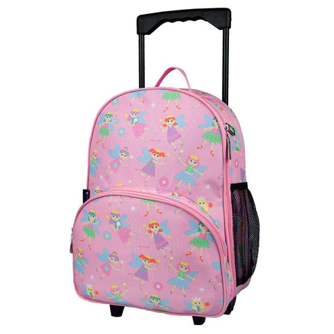 Wildkin Olive Kids Fairy Princess Rolling Luggage Trolley School Bag - Petit Fab Singapore
