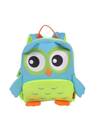 KinderBrands Nohoo 3D Owl Kids' Neoprene Backpack (2 Colours) - Petit Fab Singapore