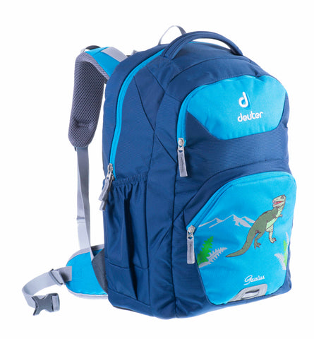 Deuter Genius Ergonomic Backpacks - Turquoise Dino