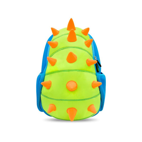 KinderBrands Nohoo Ergonomic 3D Zoo Animal Spikes Kids' Backpack (3 Colours) - Petit Fab Singapore