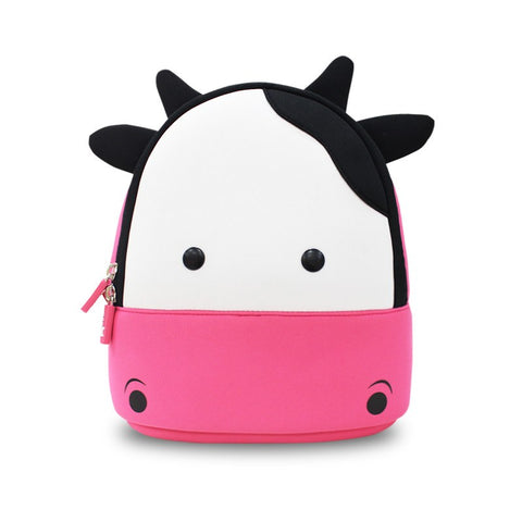 KinderBrands Nohoo Ergonomic Zoo Cow Kids' Neoprene Backpack - Petit Fab Singapore
