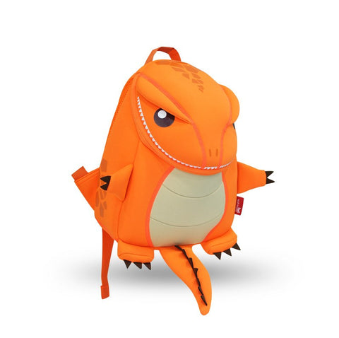 KinderBrands Nohoo Ergonomic 3D T-Rex Dinosaur Kids' Backpacks (2 Colours) - Petit Fab Singapore