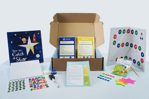 KinderHands Star Theme Book Box