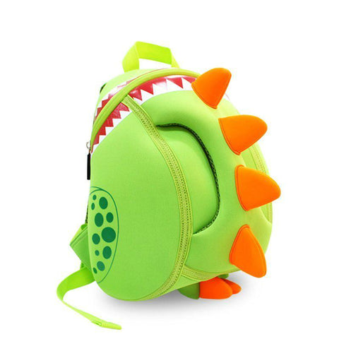 KinderBrands Nohoo Ergonomic 3D Dinosaur Spikes Kids' Backpack - Petit Fab Singapore