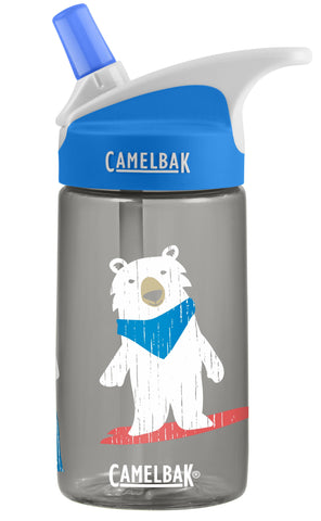 Camelbak Eddy Kids Spill-Proof Water Bottle 0.4L - Bro Bears [BPA-Free]