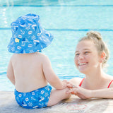 Bumkins UPF50+ Swim Diaper and Sun Hat Set - Ahoy