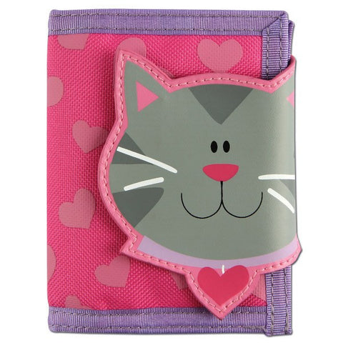 Stephen Joseph Kids' Wallet - Cat - Petit Fab Singapore