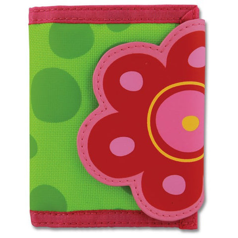 Stephen Joseph Kids' Wallet - Flower - Petit Fab Singapore