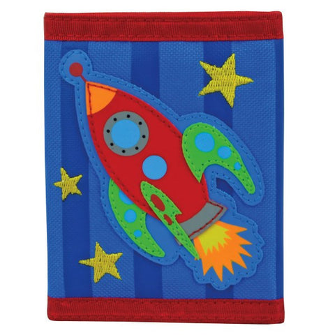 Stephen Joseph Kids' Wallet - Space Rocket - Petit Fab Singapore