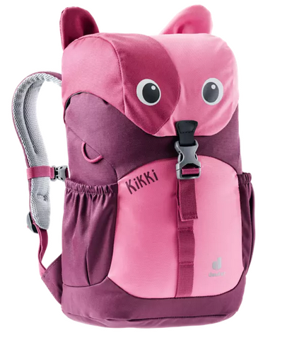 Deuter Kikki Children's Backpack - Hotpink Maron (2021 Design)