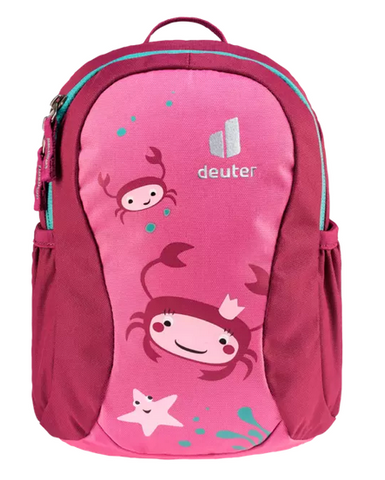 Deuter Pico Children's Backpack - Hotpink Ruby Crabs
