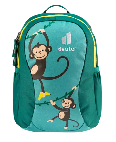 Deuter Pico Children's Backpack - Dustblue Alpine Green Monkeys