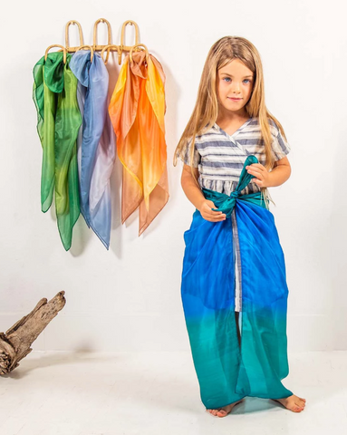 Sarah's Silks Earth Playsilks (Assorted Colours) - Petit Fab Singapore