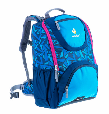 Deuter Smart Ergonomic Backpacks - Midnight Zag Print
