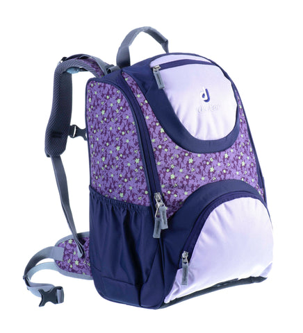 Deuter Smart Ergonomic Backpacks - Plum Flora Print