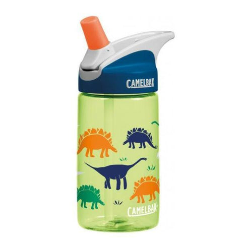 Camelbak Eddy Kids Water Bottles 0.4L - Dinorama - Petit Fab Singapore