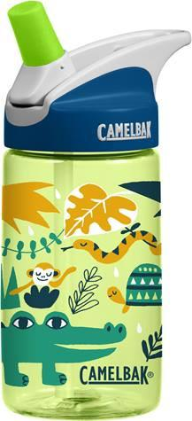 Camelbak Eddy Kids Water Bottle 0.4L - Jungle Animals - Petit Fab Singapore