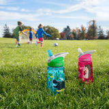 Camelbak Eddy Kids Spill-Proof Water Bottle 0.4L - Airplane Bandits - Petit Fab Singapore