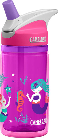 Camelbak Eddy Kids Insulated Water Bottles 0.4L Pink Mermaids - Petit Fab Singapore