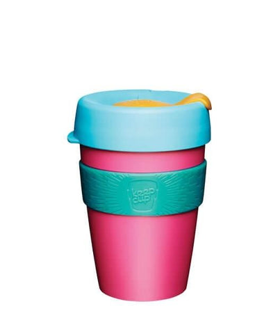 KeepCup Original Plastic Reusable Coffee Cups (Medium) [Made in Australia]