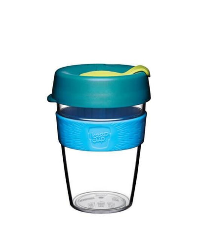 KeepCup Clear Plastic Reusable Coffee Cups (Medium) [Made in Australia] - Petit Fab Singapore