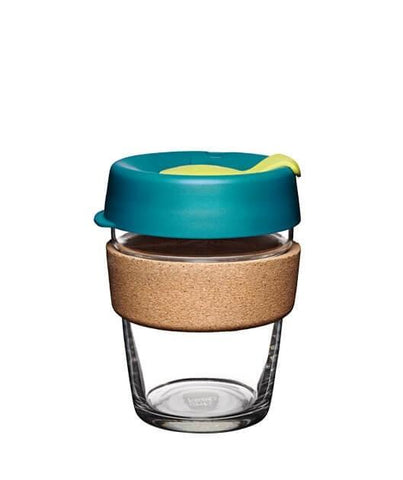 KeepCup Brew Cork Glass Reusable Coffee Cups (Medium) [Made in Australia]