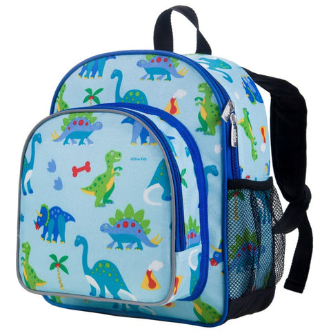 Wildkin Olive Kids Dinosaur Land Pack 'n Snack Backpack - Petit Fab Singapore