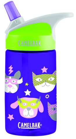 Camelbak Eddy Kids Spill-Proof Water Bottle 0.4L - Heroes [BPA-Free]