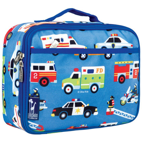 Wildkin Olive Kids Heroes Lunch Box Bag [BPA-Free] - Petit Fab Singapore