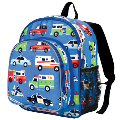 Wildkin Olive Kids Heroes Pack 'n Snack Backpack - Petit Fab Singapore