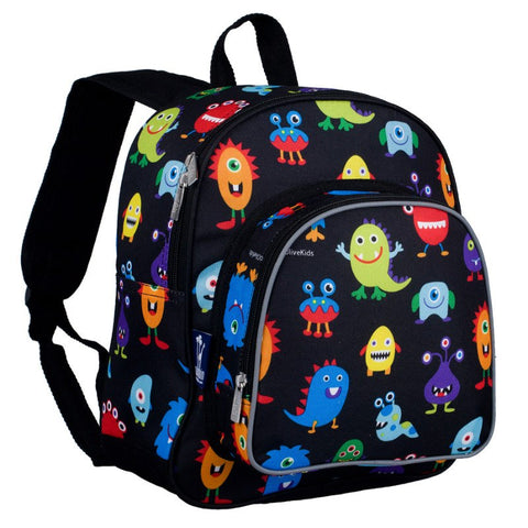 Wildkin Olive Kids Monsters Pack 'n Snack Backpack - Petit Fab Singapore