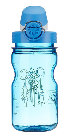 Nalgene 12oz OTF Kids BPA-Free Water Bottle - Blue Forest - Petit Fab Singapore