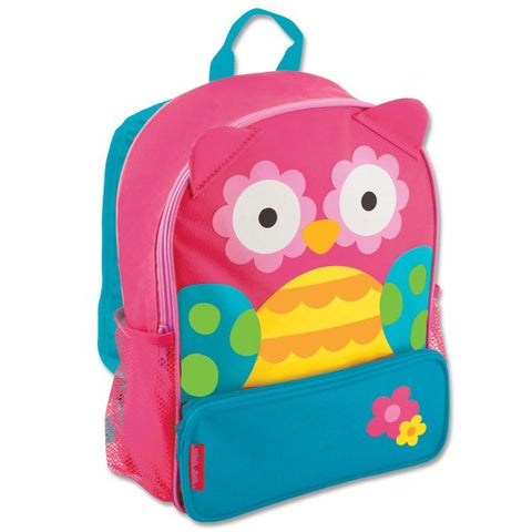 Stephen Joseph Teal Owl Sidekick Backpack School Bag - Petit Fab Singapore