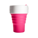 Stojo Pocket Collapsible Reusable Cup - Classic Collection 12oz (2 Colors)