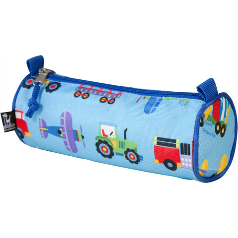 Wildkin Trains Planes Pencil Case - Petit Fab Singapore