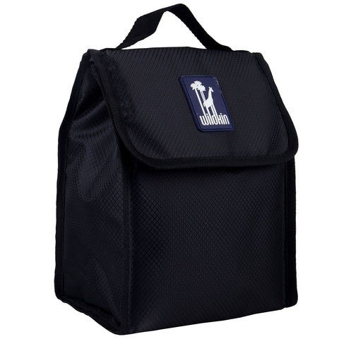 Wildkin Rip Stop Black Lunch Bag [BPA-Free] - Petit Fab Singapore