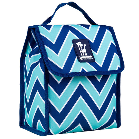 Wildkin Zigzag Lucite Lunch Bag [BPA-Free]