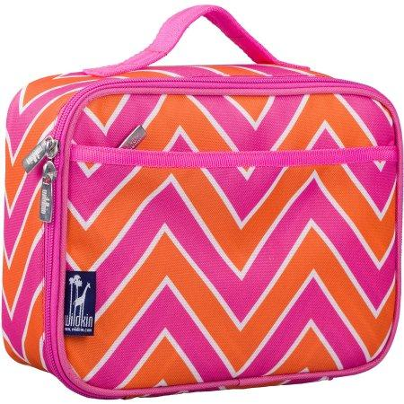 Wildkin Zigzag Pink Lunch Box Bag [BPA-Free] - Petit Fab Singapore