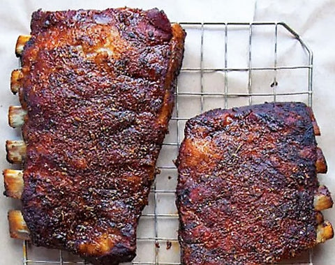 Memphis Dry Rubbed Ribs