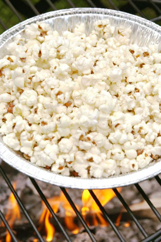 Popcorn on your Grill