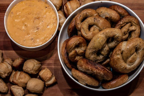 Smoked Pretzels & Beer Cheese
