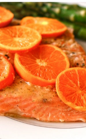 Easy Orange Grilled Salmon
