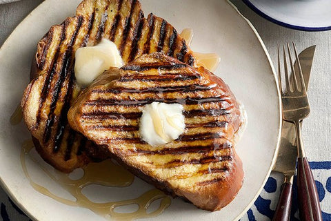 Grilled French Toast, Grilled Brunch