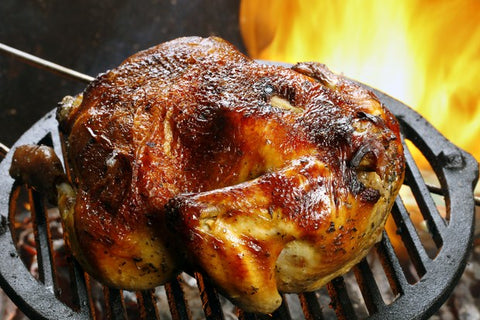 Grilled Whole Turkey