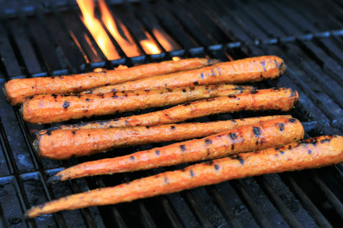 Savory Grilled Carrots